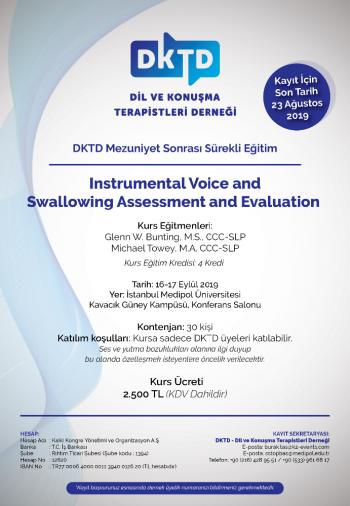 Instrumental Voice and Swallowing Assessment and Evaluation